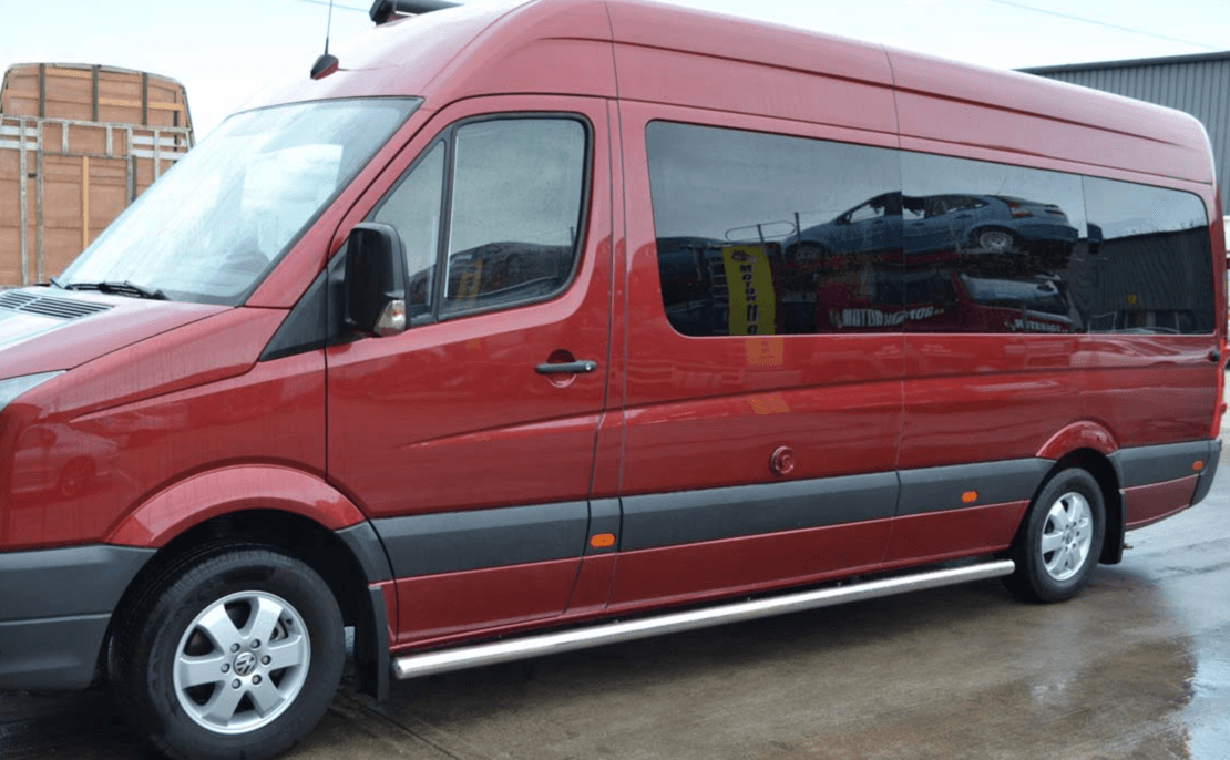 Mercedes sprinter n s m fixed window in privacy tint lwb for Mercedes benz factory tint