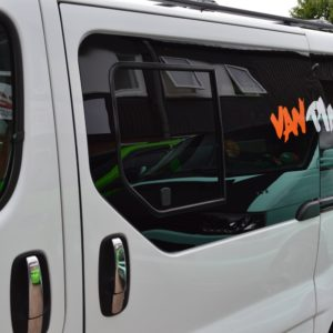 Renault Trafic N/S/F Opening Window in Privacy Tint