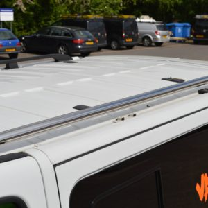 Vauxhall Vivaro Mirror Polished Stainless Steel Roof Rails LWB