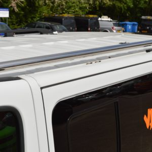 Renault Trafic x82 Mirror Polished Stainless Steel Roof Bars SWB