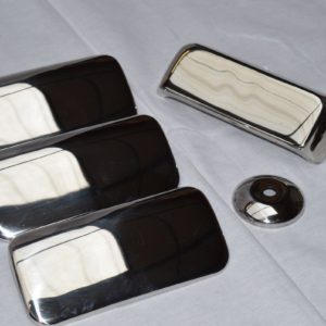 Ford Transit Stainless Steel Chrome Door Handle Covers (4 door)