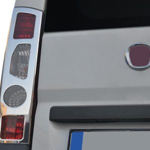 Fiat Ducato Stainless Steel Chrome Rear Light Covers (2 piece)