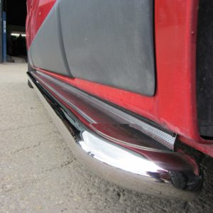 Vauxhall Vivaro Apollo Stainless Steel Polished Side Steps (LWB L2)