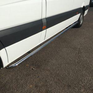 Volkswagen Crafter Stainless Steel Sportline Side Bars (L4 XLWB)