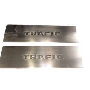 Renault Trafic 3 Piece Internal Step Plates