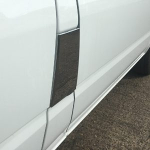 Ford Transit Stainless Steel Chrome Fuel Cap Cover