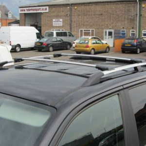 Nissan Primastar Aluminium Wing Bars / Cross Bars (Pair with feet and fixings)