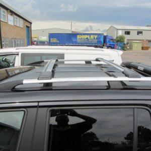 Nissan Primastar Aluminium Wing Bars / Cross Bars (Pair with feet and fixings)