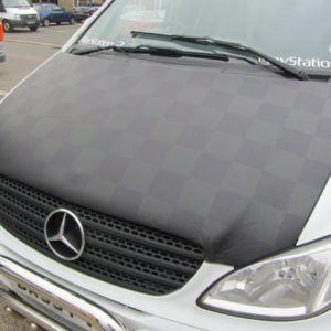 Mercedes Vito Chequered Bonnet Bra Facelift 2010