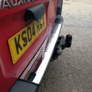 Renault Trafic Chrome Rear Bumper Protector
