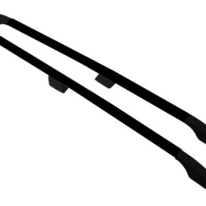 Vauxhall Vivaro Black Aluminium Roof Rails and Cross Bars Set (SWB)
