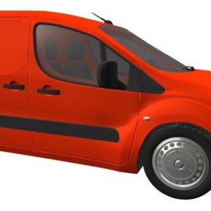 Citroen Berlingo O/S/R Fixed Window in Privacy Tint
