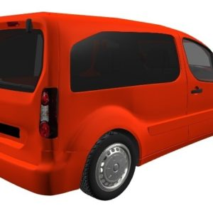 Peugeot Partner Full Window Package In Privacy Tint With FREE Fitting Kit Worth Over £100