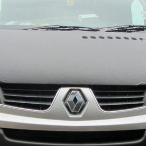 Vauxhall Vivaro 2014> Plain Black Bonnet Bra