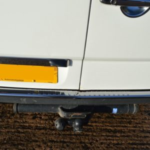 VW Crafter Chrome Rear Bumper Protector
