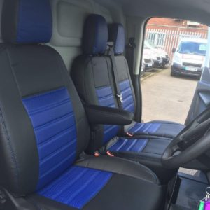 Ford Transit Custom Seat Covers - Blue