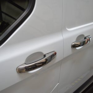 Ford Transit Custom Stainless Steel Chrome Door Handle Covers (4 door)