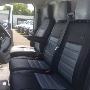 Ford Transit Custom Seat Covers - Grey