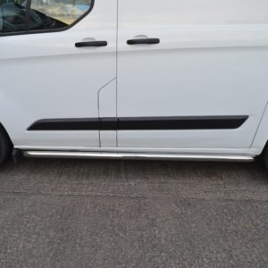 Transit Custom Sportline Style Side Bars (SWB L1)