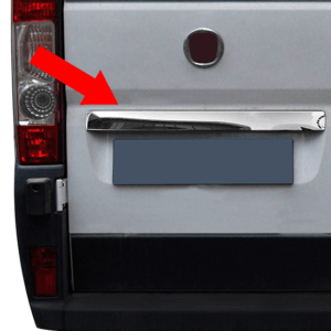 Citroen Relay Chrome Tailgate Rear Grab Handle Cover