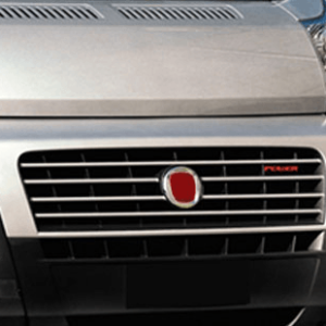 Fiat Ducato Chrome Front Grill Trim Set Covers Stainless Steel