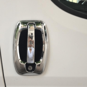 Peugeot Boxer Stainless Steel Chrome Door Handle Cover and Surround set (4 door)
