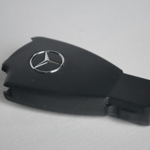 Mercedes Benz 3 Button Replacement Key Fob Case With Logo