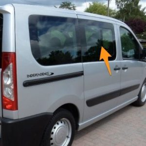 Citroen Despatch O/S/F Opening Window in Privacy Tint