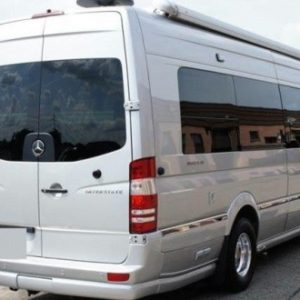 VW Crafter O/S/F Fixed Window in Privacy Tint MWB LWB