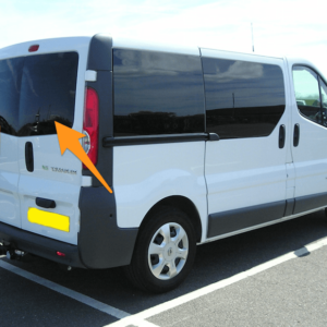 Renault Trafic Back Door Glass (pair of windows) In Privacy Tint