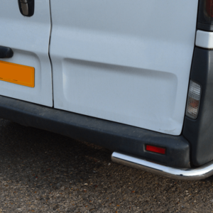 Trafic/Vivaro/Primastar Mirror Polished Stainless Steel Rear Guard Bars