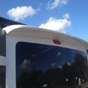 Renault Trafic Rear Spoiler