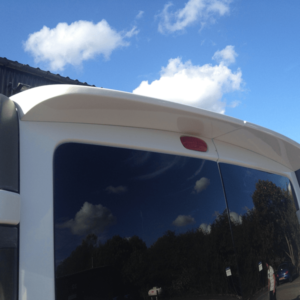 Nissan Primastar Rear Spoiler