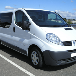 Renault Trafic O/S/R (Rear) Fixed Window in Privacy Tint LWB
