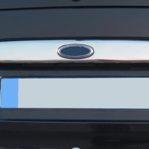 Ford Transit Stainless Steel Mirror Polished Rear Grab Handle Cover