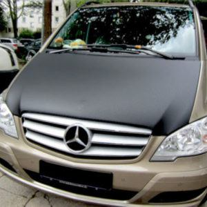 Mercedes Vito Black Bonnet Bra 2003 to 2010