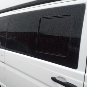 Mercedes Vito Pair Of Privacy Tinted Opening Windows With FREE Fitting Kit Worth Over £50.00