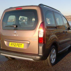 Peugeot Partner Window Packages