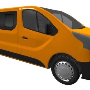 Vauxhall Vivaro 2014 (x82) N/S/F & O/S/F Opening Window Package