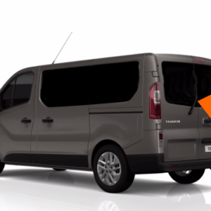 Renault Trafic 2014 X82 Back Door Glass (pair of windows) In Privacy Tint