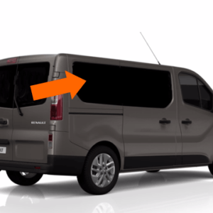 Renault Trafic 2014 X82 O/S/R (Rear) Fixed Window in Privacy Tint LWB